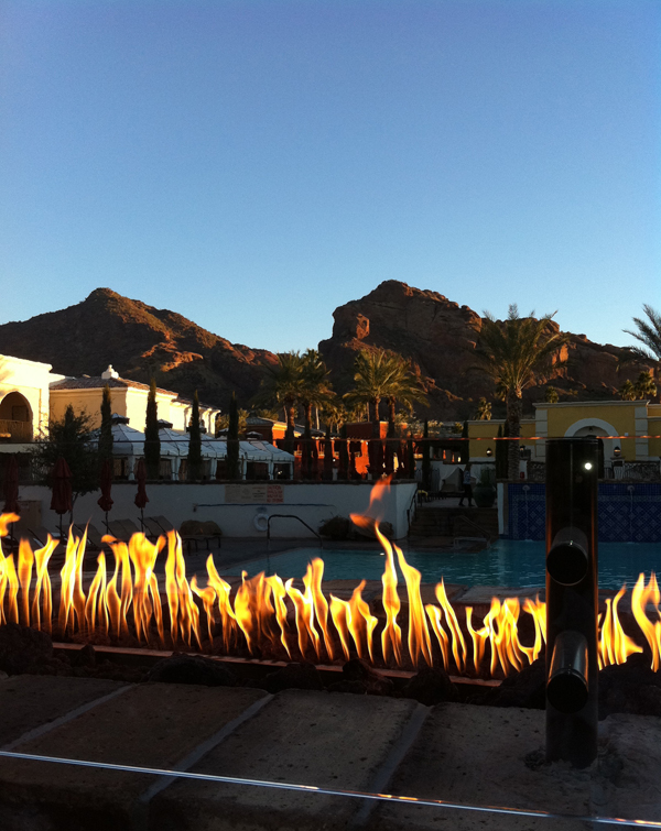 Camelback Mountain Views From Montelucia Resort & Spa