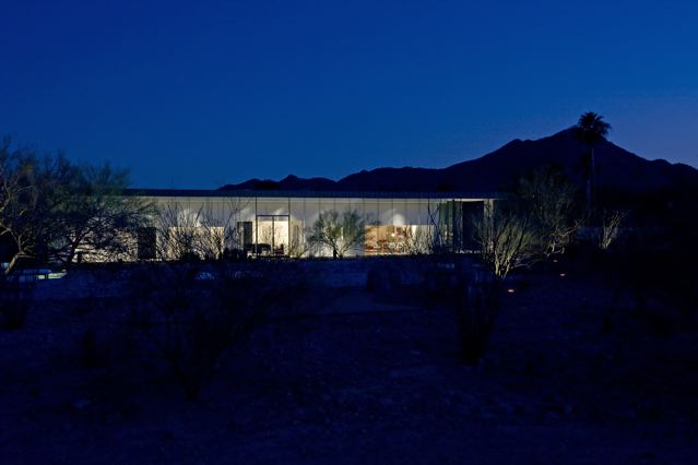 Modern architecture in Paradise Valley