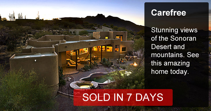 Carefree Home Sold in 7 Days
