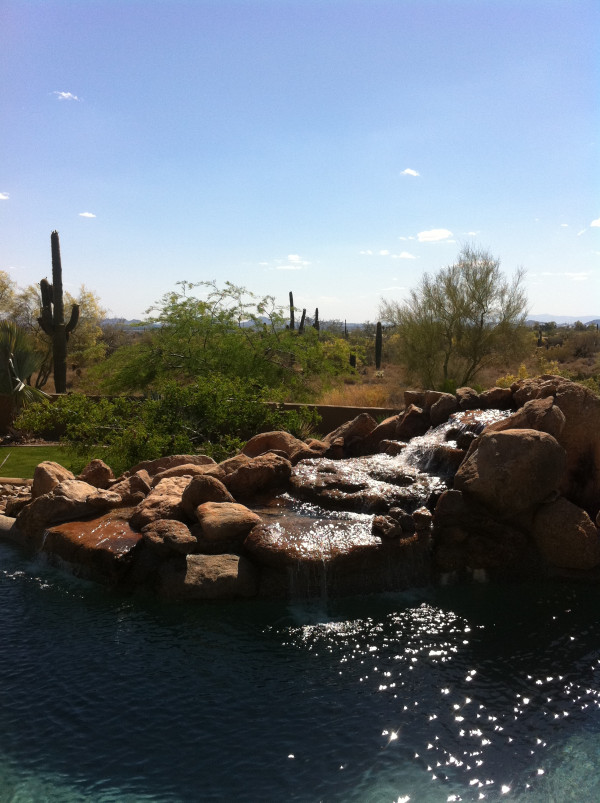 North Scottsdale Sparkling Resort Style Pool