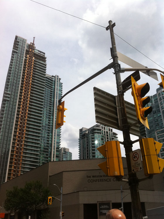 Toronto is one of the only North American cities still booming with construction.