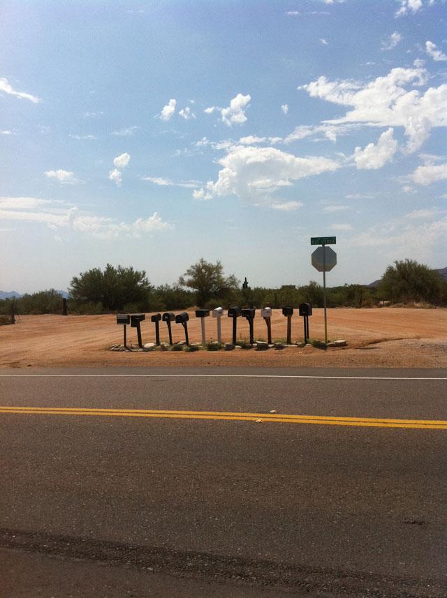 Scottsdale Desert Mailboxes