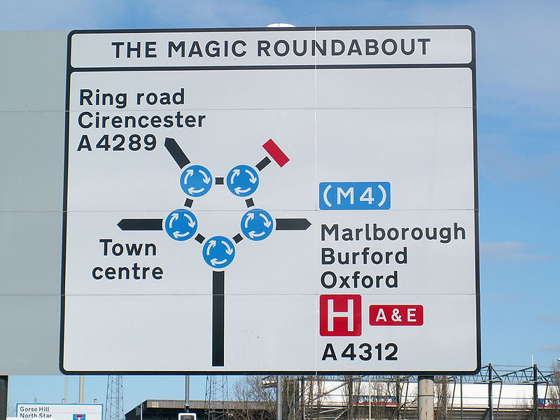 Swindon's Magic Roundabout