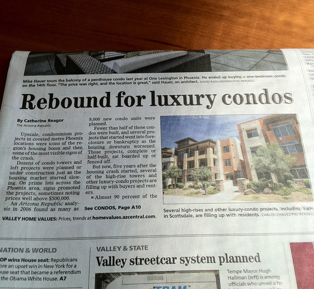 Luxury Condo Market Improving