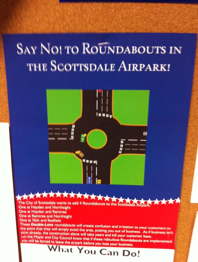 Roundabout Drama in Scottsdale