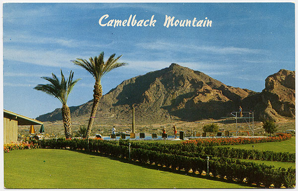 Camelback Mountain Circa 1950's From Hometownarchive.com