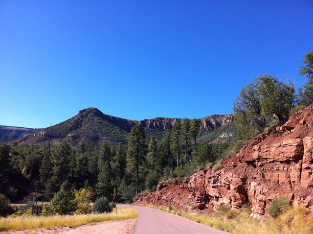Mountain Roads in Payson, AZ