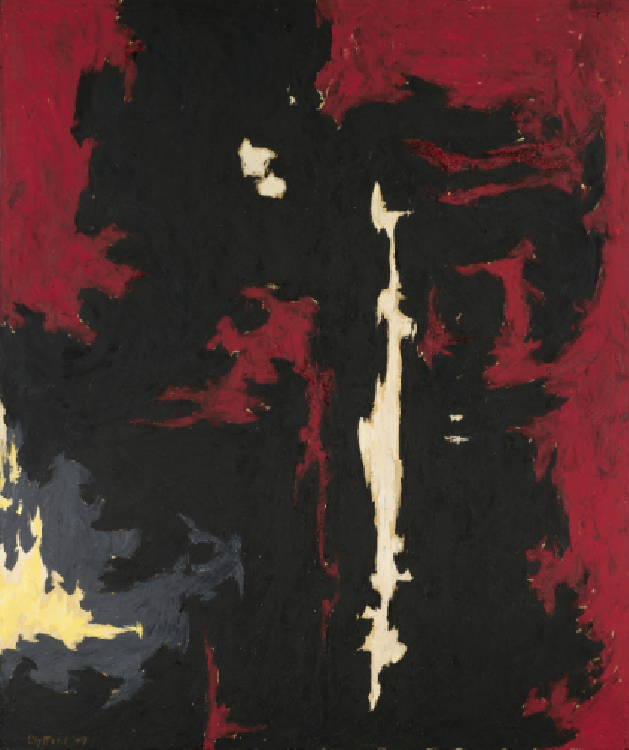 1949-A-No 1 by Clyfford Still