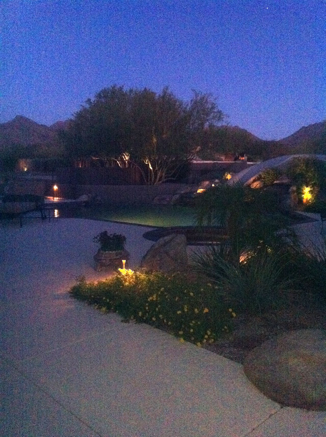 Pima Acres at Night