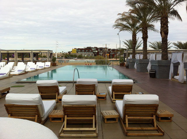 Pool at the W Hotel, Scottsdale