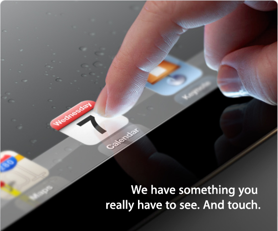 Apple iPad Launch Invite