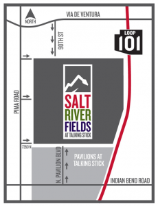 Getting to Salt River Fields
