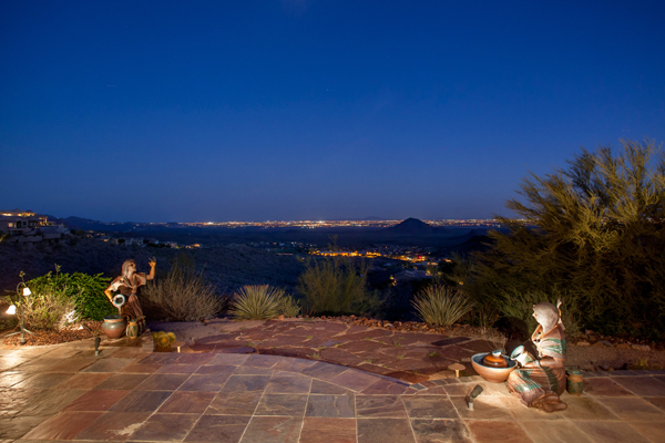 Stunning views as seen from 11225 N Crestview DR, Fountain Hills Arizona | via: The Marta Walsh Group