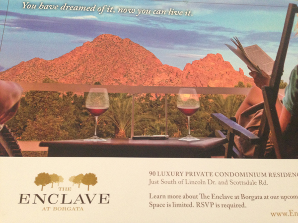 The Enclave At Borgata Scottsdale | via The Marta Walsh Group