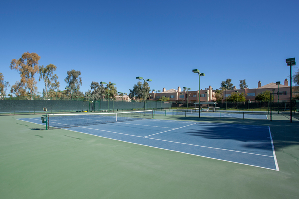 Love to play Tennis? No problem. The Courts at Gainey Ranch Scottsdale Arizona comes with tennis courts | Photo Credit: The Marta Walsh Group