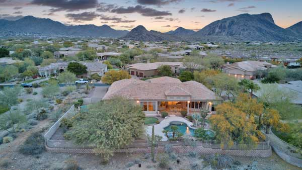 9298 N 128th Way Scottsdale 85259. Presented By The Marta Walsh Group Russ Lyon Sotheby's International Realty.
